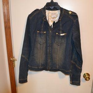 baby phat medium jean jacket